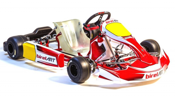 Birel ART FP7 sticker kit