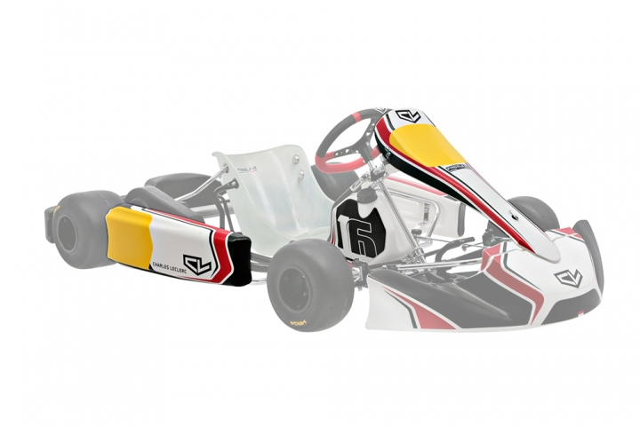 Sticker kit Charles Leclerc 2020 - no front spoiler