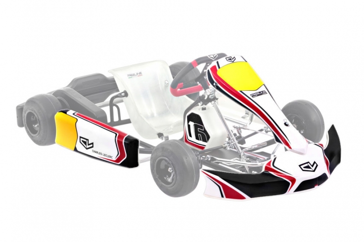 Sticker kit Charles Leclerc 2020 - Cadet full kit