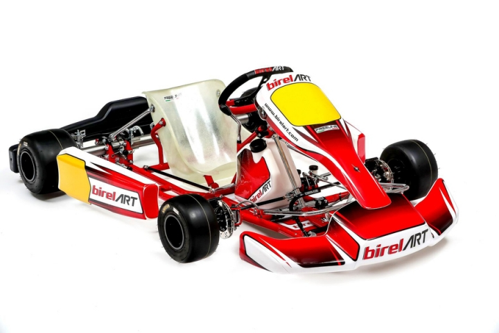 Birel ART 505 sticker kit