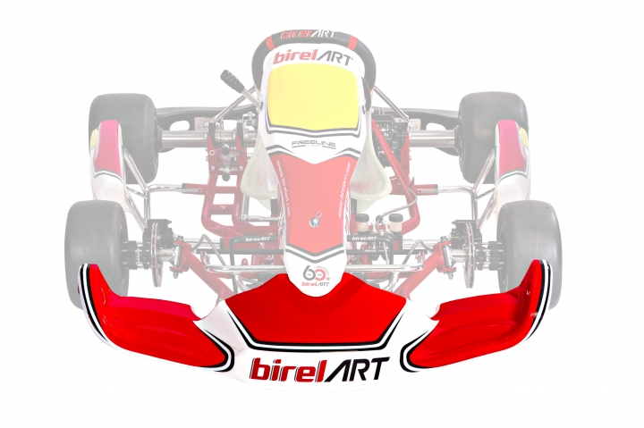 Birel ART FL-F1 S10 (2019) front bumper sticker kit