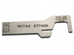Rotax float arm gauge