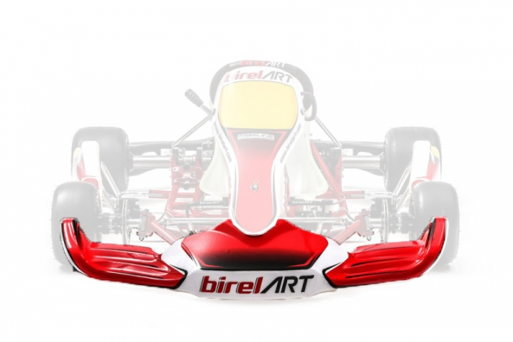Birel ART FL-F1 S9 (2018) front bumper sticker kit