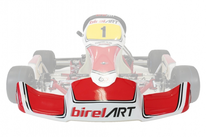 Birel ART 505 S10 (2019) front bumper sticker kit