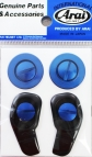 GP6 & SK6 visor screw kit anodized blue
