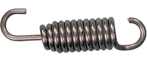 Rotax exhaust spring stainless