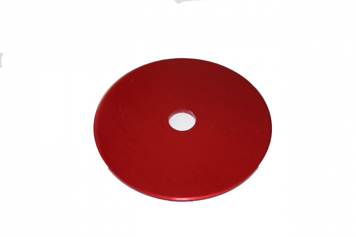 RED SEAT WASHER 60MM EXT. DIA.