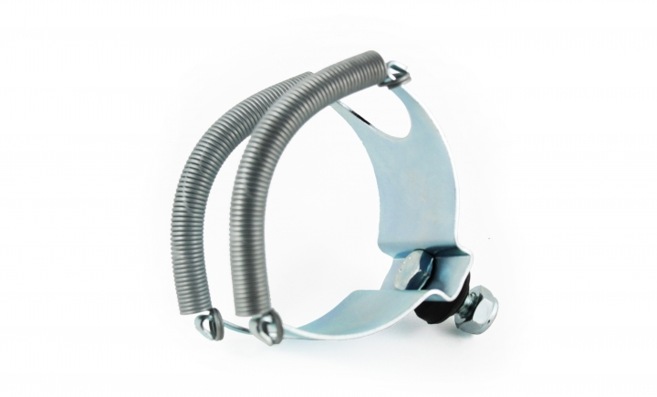Muffler cradle and brackets